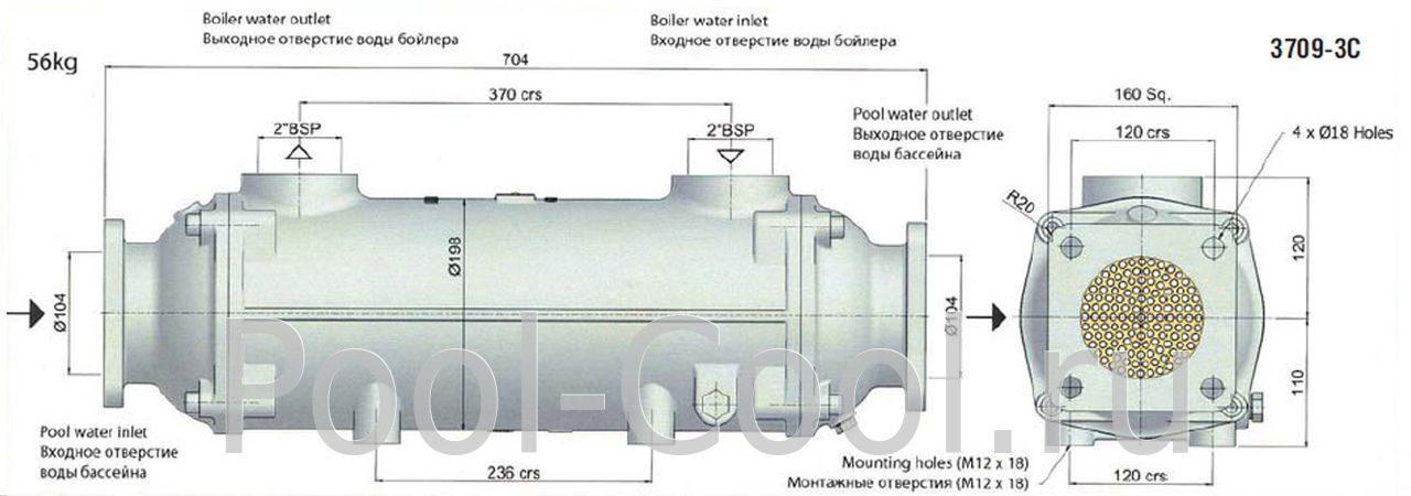 Bowman 3709 3 теплообменник Пластины теплообменника Kelvion NT 500T Одинцово